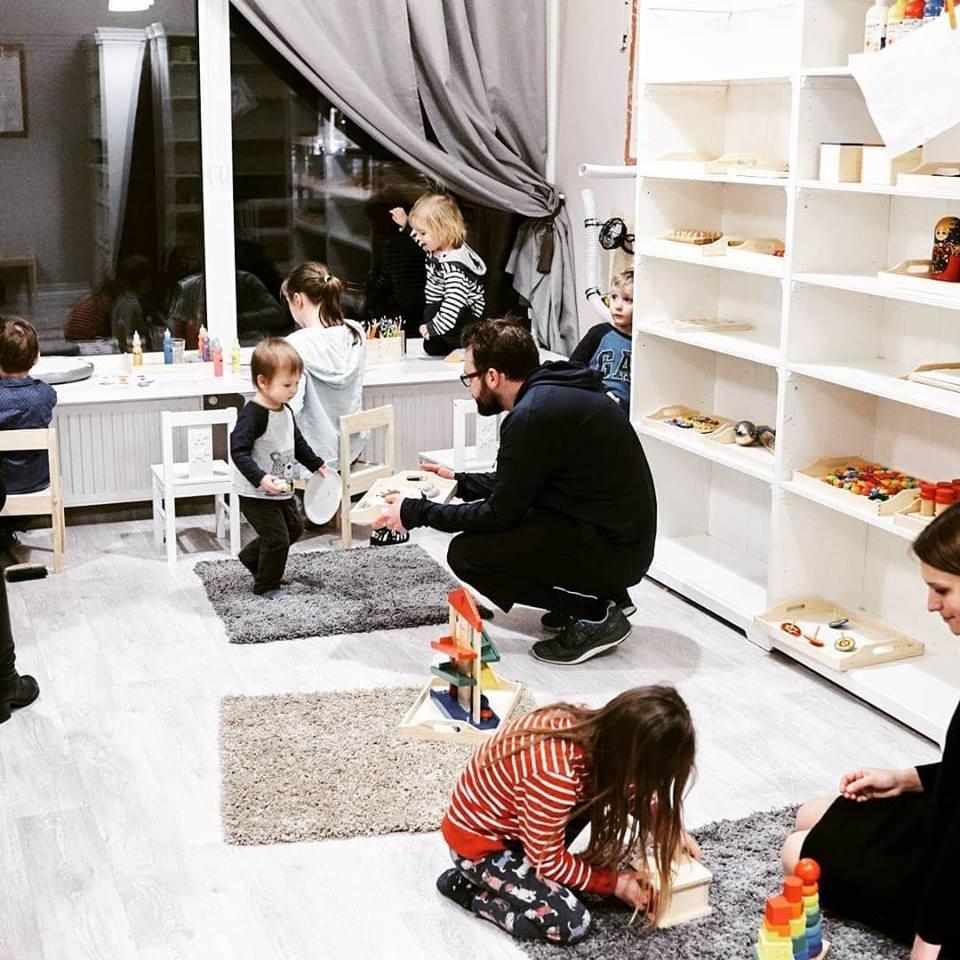Bawialnia w stylu Montessori