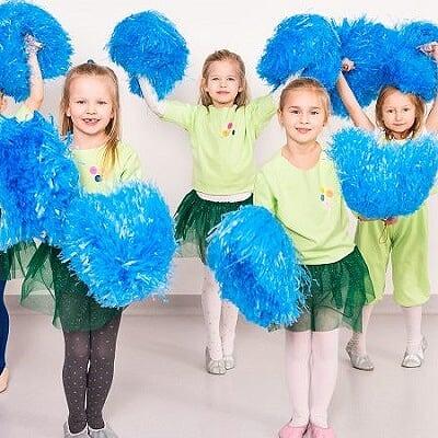Zajęcia dla dzieci Cheerleaderki 7-11 lat (poziom początkujący) w Warszawie