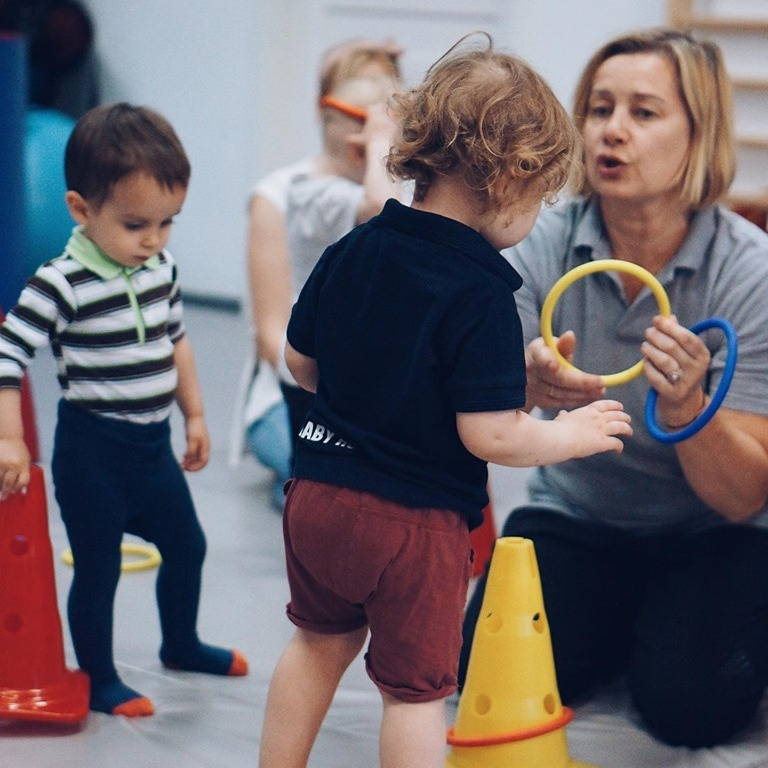 Zajęcia dla dzieci Gym Birds 1 (1,5-3 lata) w Warszawie