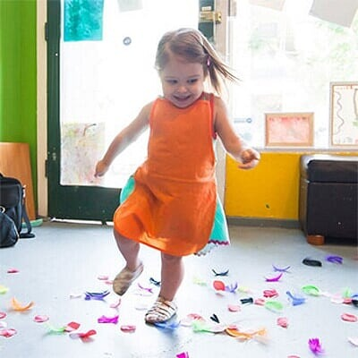 Zajęcia dla dzieci Tańczące maluszki 2-3 lata w Warszawie