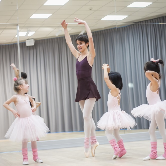 Zajęcia dla dzieci Balet, 5-7 lat w Warszawie
