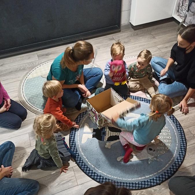 Zajęcia dla dzieci Mały Przedszkolak - zajęcia przygotowujące do przedszkola w Warszawie