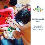 Zajęcia dla dzieci Multisensorki Plus w Warszawie