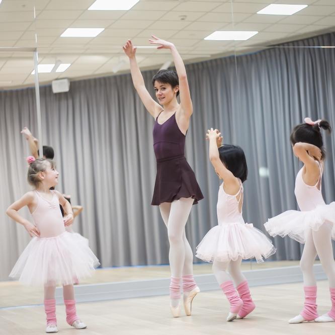 Zajęcia dla dzieci ONLINE Balet, 5-7 lat  w Warszawie