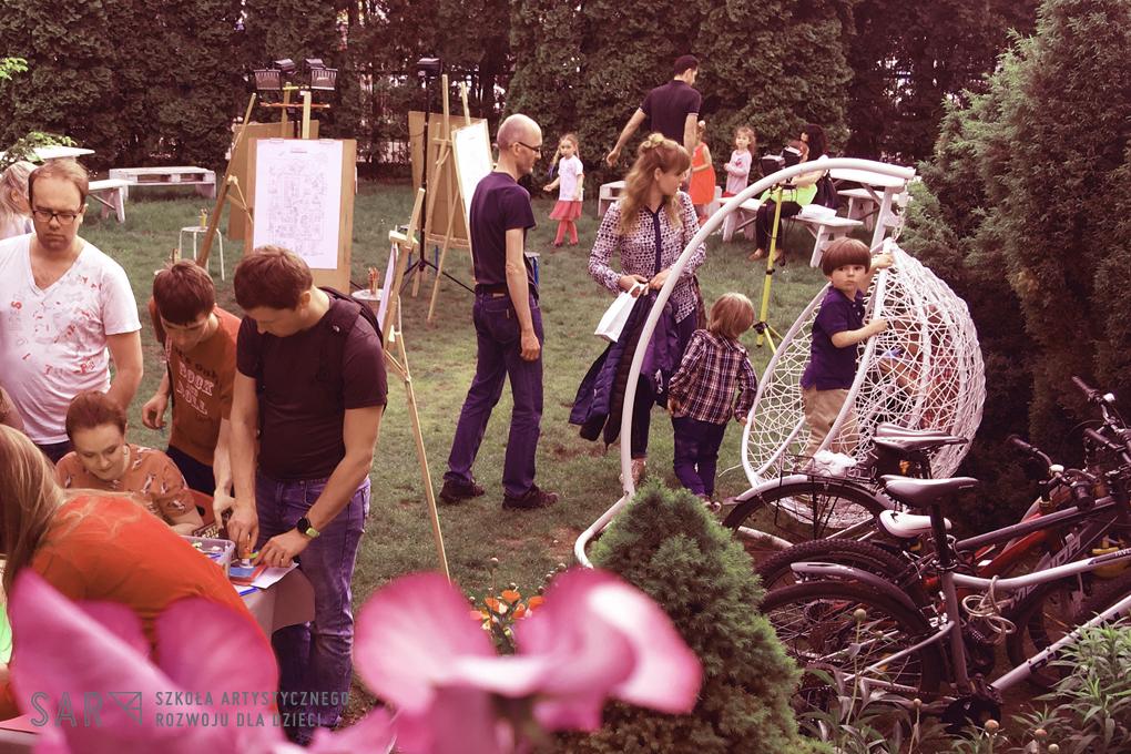 Zajęcia dla dzieci PÓŁKOLONIE Sztuka w ogrodzie - poranne plenerowe zajęcia artystyczne dla dzieci w Warszawie