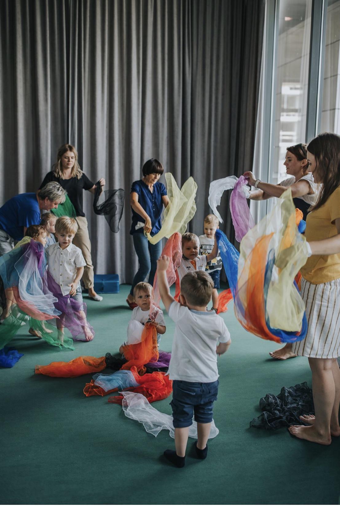 Zajęcia dla dzieci Przed Przedszkole w Warszawie