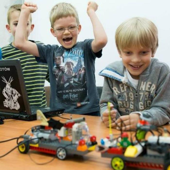 Zajęcia dla dzieci Robotyka LEGO w Warszawie