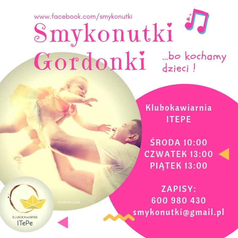 Zajęcia dla dzieci Smykonutki Gordonki w Warszawie