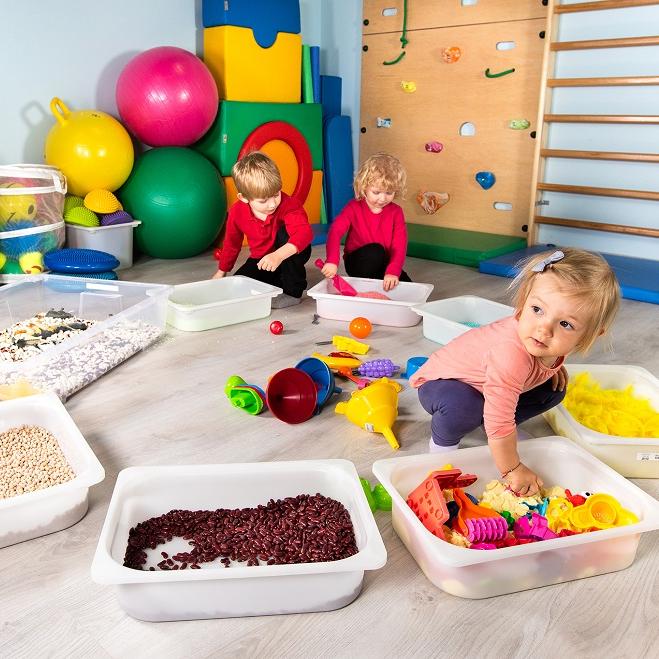 Zajęcia dla dzieci Zajęcia sensoryczne smyko-multisensoryka dla maluszków od 6 mies do roku w Warszawie
